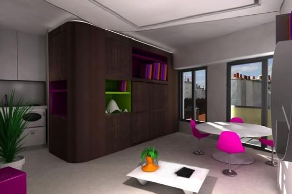 meuble pour studio petite surface petite cuisine 15 cuisines de petite surface pour faire. Black Bedroom Furniture Sets. Home Design Ideas
