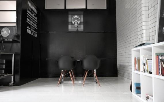 Candy Black bureau loft