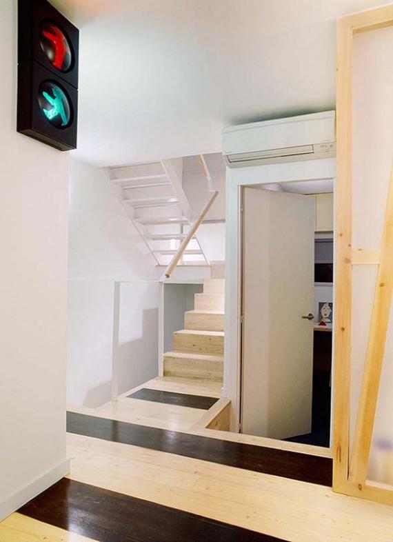 Escalier de la Casa Hevia