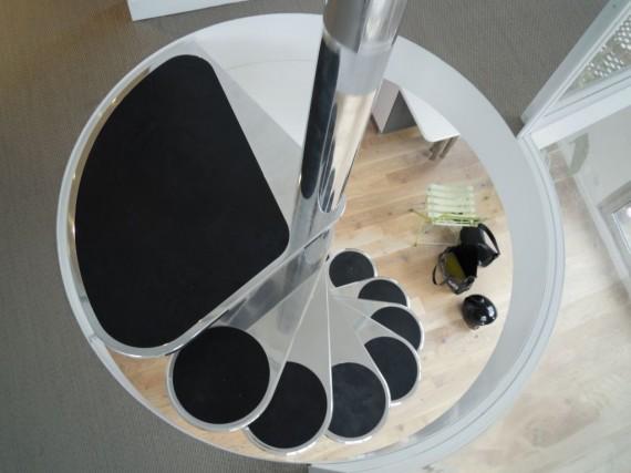 Escalier en colimaçon design
