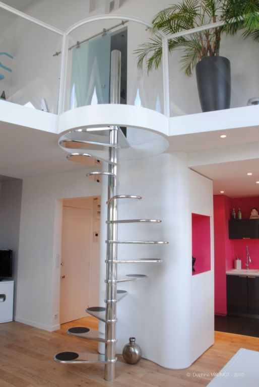 Escalier en colima on design journal du loft - Escalier colimacon design ...