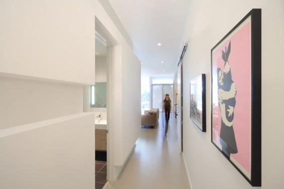 Couloir du loft Superior at Venice