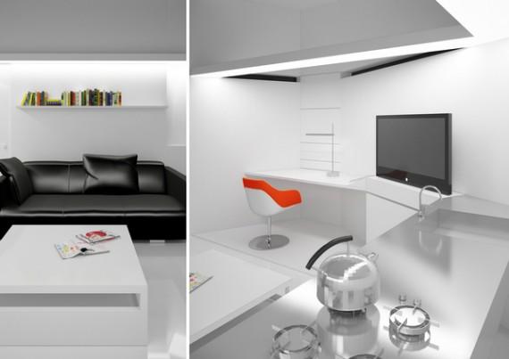 Cube house - décoration design