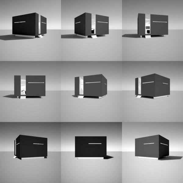 cube house by armiko journal du loft. Black Bedroom Furniture Sets. Home Design Ideas