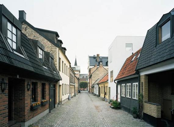 Maison de ville suédoise design