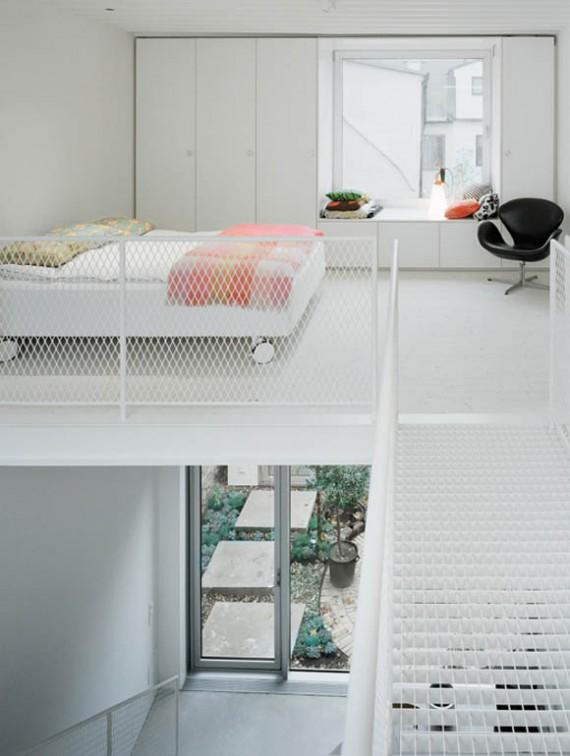Maison de ville suédoise avec mezzanine