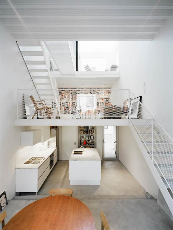 Int rieur design de cette maison de ville su doise for Maison design interieur