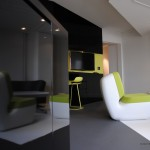 Meuble laqué noir design Studio Icebox