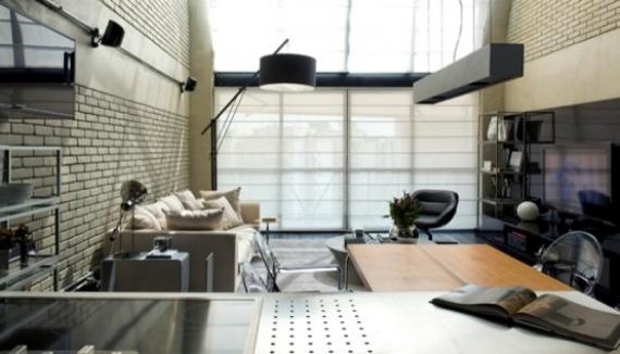 diy cr er un mur en fausse brique esprit loft journal du loft. Black Bedroom Furniture Sets. Home Design Ideas