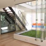 Loft avec jardin d'hiver intérieur