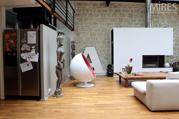 Loft avec verrière design