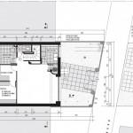 Villa style années 30 à Chatillon (92320) - plan niveau 0 entresol