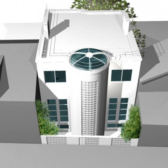 Villa d architecte style ann es 30 chatillon journal for Les facades des villas modernes