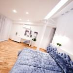 Open space dans un loft contemporain à Chisinau en Moldavie