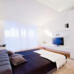 Chambre dans un loft contemporain à Chisinau en Moldavie