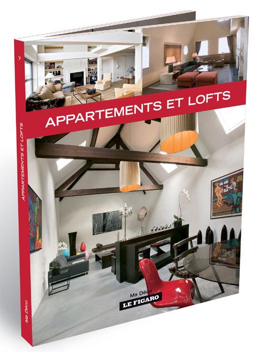 Livre Ma déco : Appartements et lofts / Le Figaro