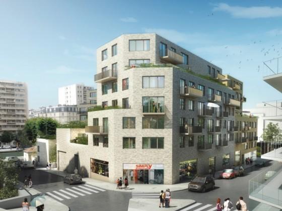 Canal Square, des appartements neufs esprit loft New-Yorkais
