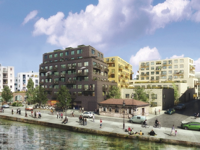 Loft Canal Square à Paris par Bouwfonds Marignan