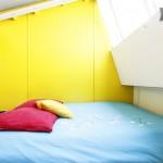Chambre dans le loft Caravane