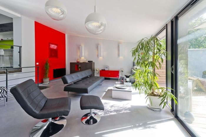 apr s une maison des ann es 50 transform e en loft journal du loft. Black Bedroom Furniture Sets. Home Design Ideas