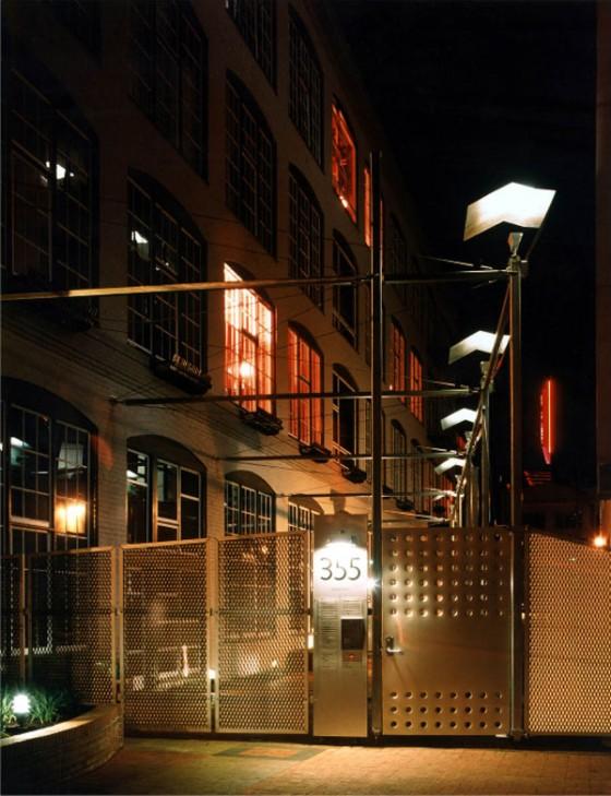 Loft à San Francisco - vue extérieure de l'usine