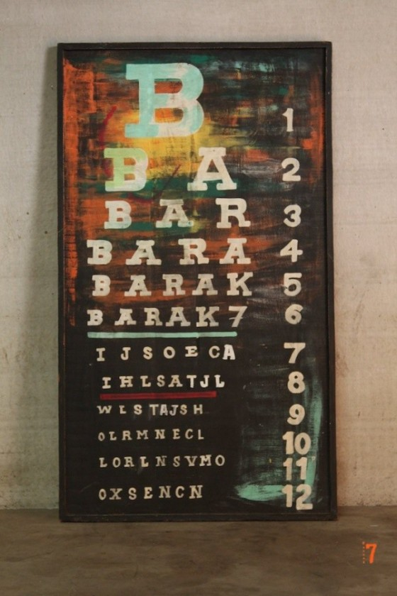 Table style industriel Barak7
