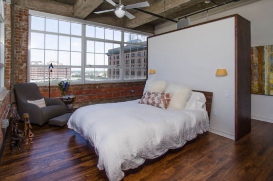 Loft à Houston par CONTENT architecture - chambre