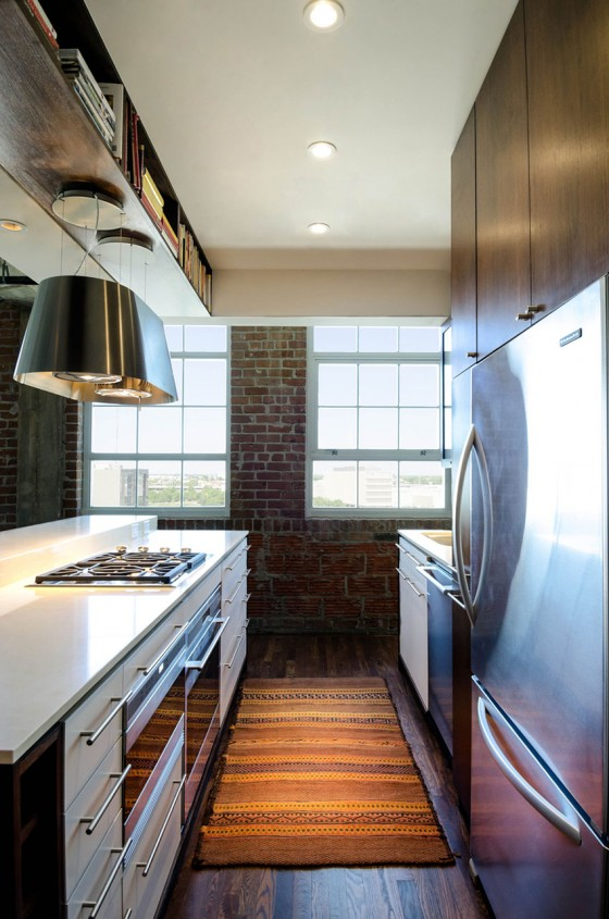 Loft à Houston par CONTENT architecture - cuisine