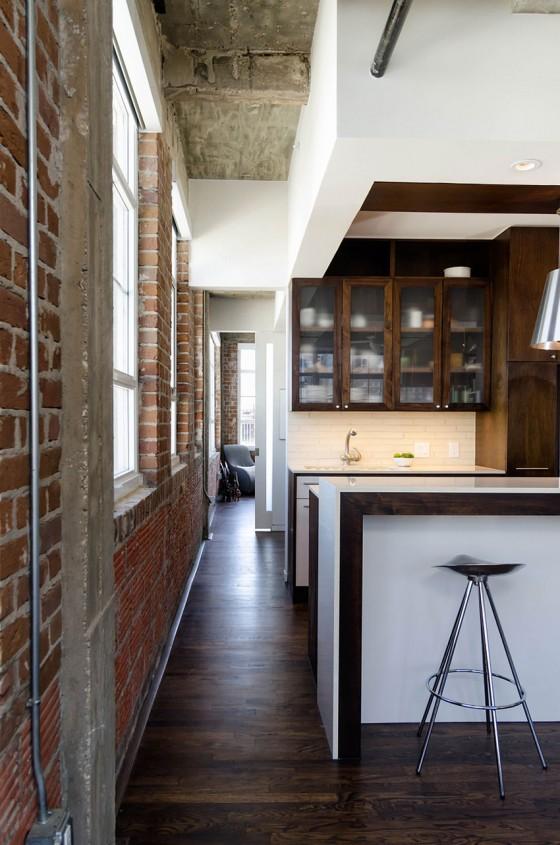 Loft à Houston par CONTENT architecture - cuisine américaine