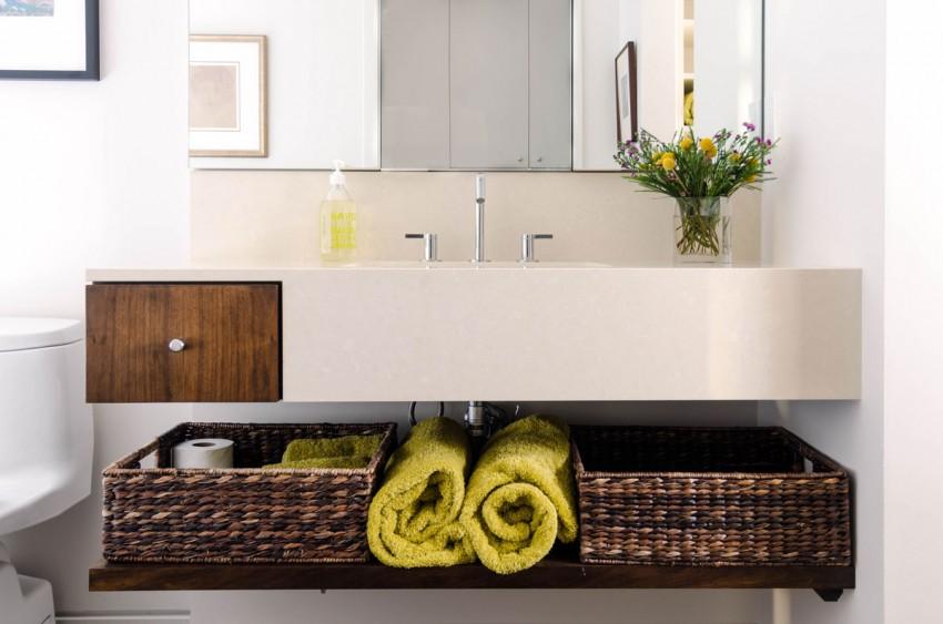 Loft à Houston par CONTENT architecture – meuble de salle de bain