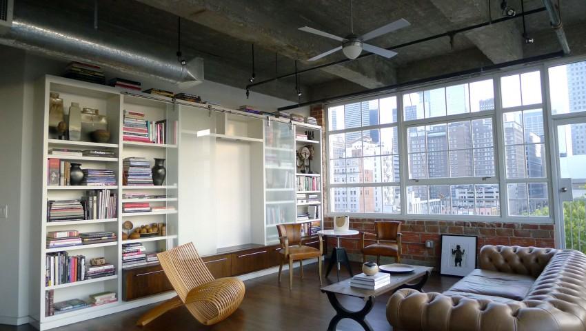 Loft à Houston par CONTENT architecture – salon