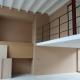 Murs intérieurs d'un loft en MDF