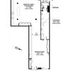Plan d'un loft à Londres de 137 m2