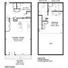 Plan d'un loft design à Londres