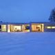 Maison horizontal space par Duilio Damilano
