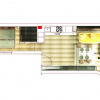 Plan du loft design Gold & Eye