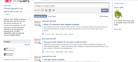 La page Facebook du Journal du loft