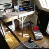 Atelier d'artiste avec mezzanine, Paris 17