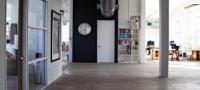 Les bureaux de Twitter dans un loft