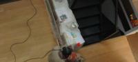 Travaux du loft. Chapitre 4 : Le parquet de la cuisine