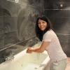 Travaux du loft. Chapitre 8 : Opération pose de carrelage dans la salle de bain.