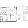 Plan du bungalow Sci Fi de Karim Rashid