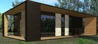 Maison loft en bois, Aquarium projects