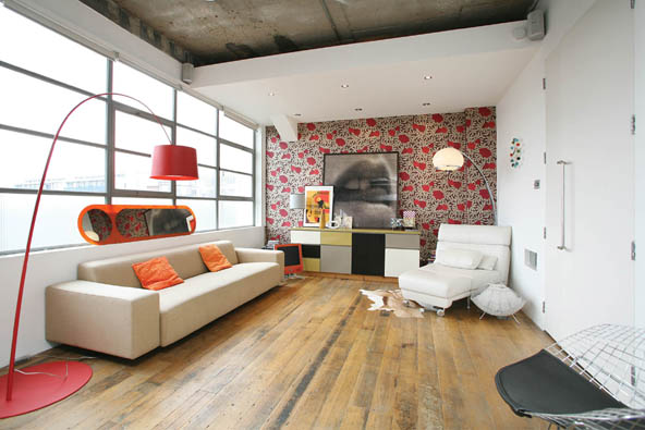Loft open space londres journal du loft for Atelier du loft