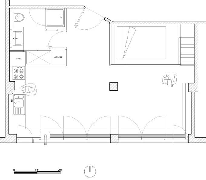 plan du loft two boxes journal du loft. Black Bedroom Furniture Sets. Home Design Ideas